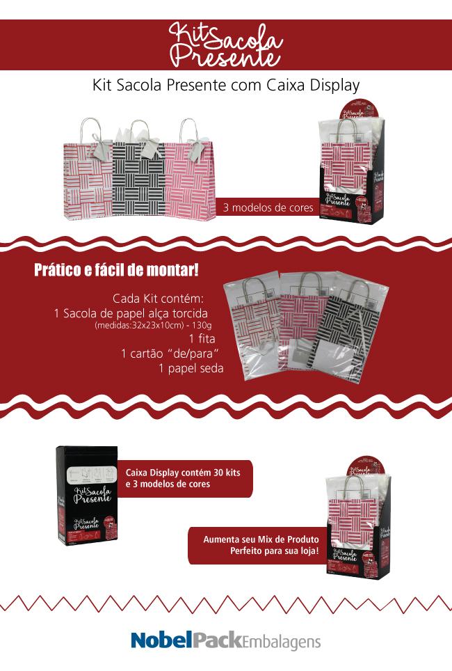Descrição do Kit Sacola Presente